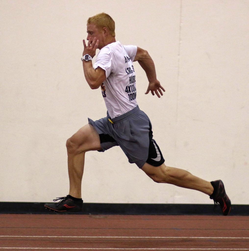 World class sprinters run 10m in the 0.81 to 0.89 range. Plainfield North  phenom 8a3879a3a5c